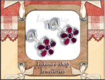 earrings_studs_flower_stone_silver_925_pendant_kids_lakasa_e-shop_jewelleries